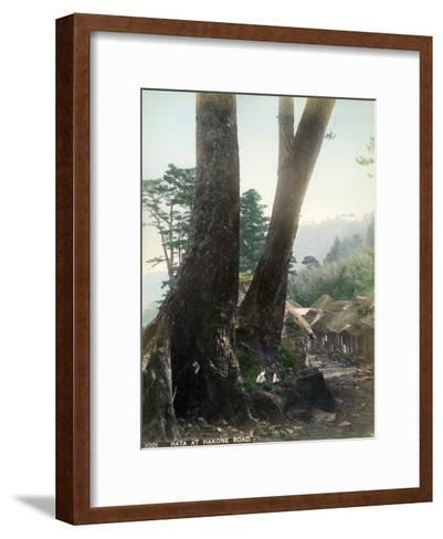 Hata at Hakone Road, Japan, Early 20th Century--Framed Art Print