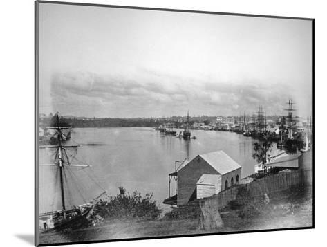 Brisbane River, South-East Queensland, Australia, 1870-1880--Mounted Giclee Print