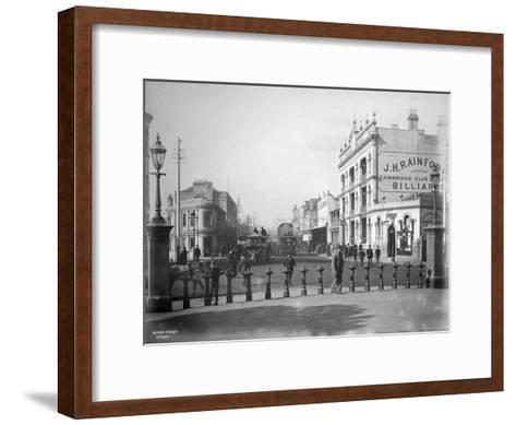 Oxford Street, Sydney, New South Wales, Australia, C1885--Framed Art Print