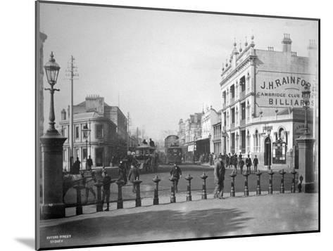Oxford Street, Sydney, New South Wales, Australia, C1885--Mounted Giclee Print