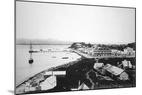 Tauranga, Bay of Plenty, North Island, New Zealand, 1875--Mounted Giclee Print