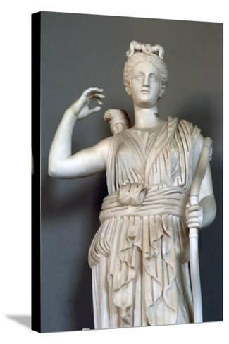 Diana, (Detail), Goddess of Hunting, Vatican Museum--Stretched Canvas Print