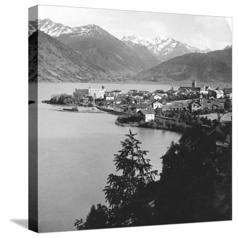 Zell Am See, Salzburg, Austria, C1900s-Wurthle & Sons-Stretched Canvas Print