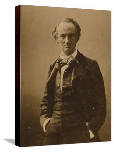 Charles Baudelaire (1821-186)-Félix Nadar-Stretched Canvas Print