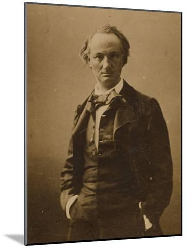 Charles Baudelaire (1821-186)-Félix Nadar-Mounted Giclee Print