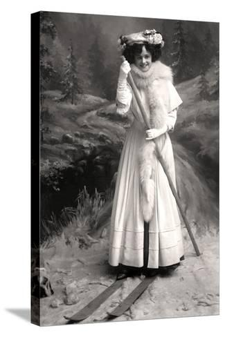Gertie Millar (1879-195), English Actress, 1906-Foulsham and Banfield-Stretched Canvas Print
