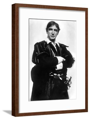 Jerrold Robertshaw (1866-194), English Actor, Early 20th Century- J Beagles & Co-Framed Art Print