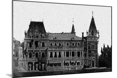 Rebuilding Project of the Massandra Palace by M. Messmacher, 1889--Mounted Giclee Print