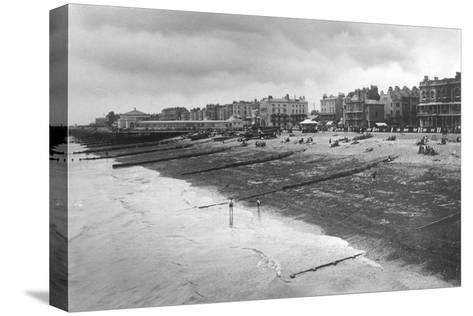 The West Sea Front, Worthing, West Sussex, C1900s-C1920S--Stretched Canvas Print