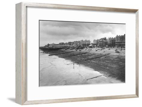 The West Sea Front, Worthing, West Sussex, C1900s-C1920S--Framed Art Print