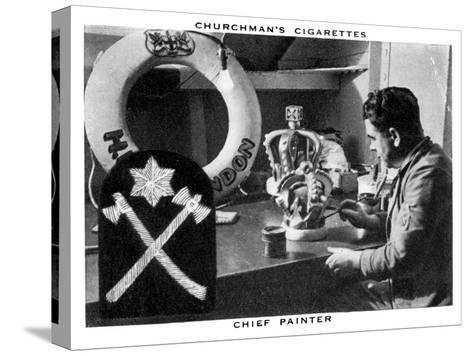 Chief Painter, 1937- WA & AC Churchman-Stretched Canvas Print