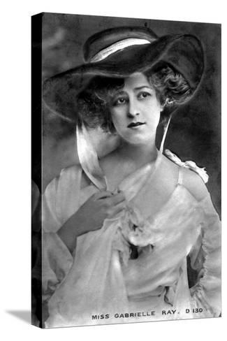 Gabrielle Ray (1883-197), English Actress, Early 20th Century--Stretched Canvas Print