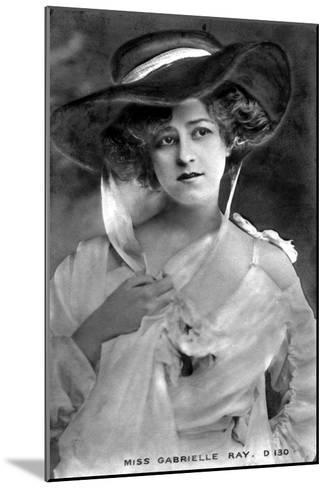 Gabrielle Ray (1883-197), English Actress, Early 20th Century--Mounted Giclee Print