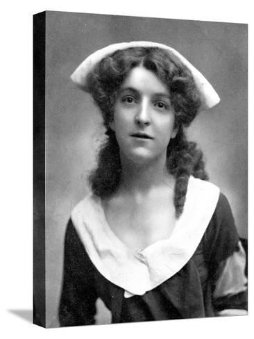 Molly Mcintyre (1886-195), Scottish Actress, 1905-W&d Downey-Stretched Canvas Print