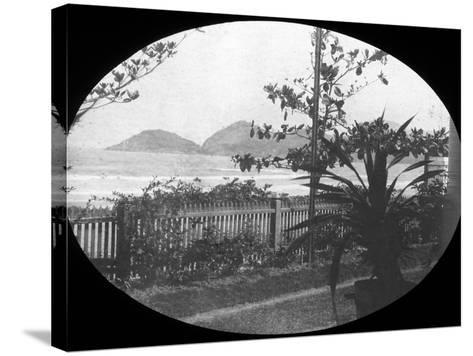 Guaruja, Sao Paulo, Brazil, Late 19th or Early 20th Century--Stretched Canvas Print