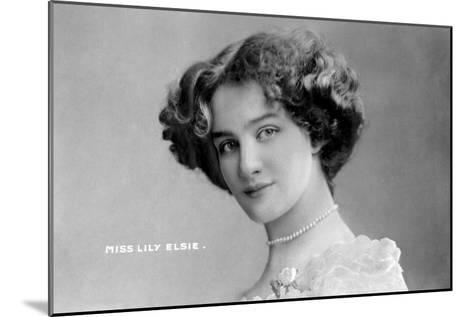 Lily Elsie (1886-196), English Actress, Early 20th Century- Johnston & Hoffman-Mounted Giclee Print