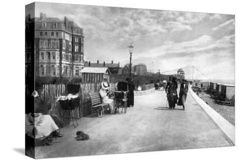 The Parade, Bexhill-On-Sea, East Sussex, Early 20th Century--Stretched Canvas Print