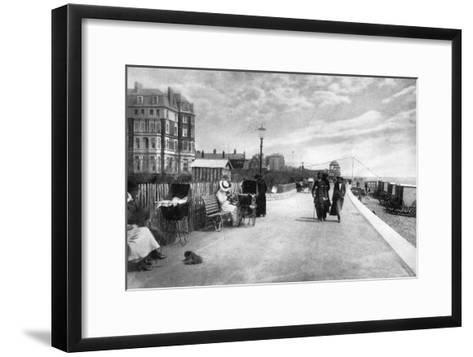 The Parade, Bexhill-On-Sea, East Sussex, Early 20th Century--Framed Art Print