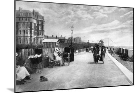 The Parade, Bexhill-On-Sea, East Sussex, Early 20th Century--Mounted Giclee Print
