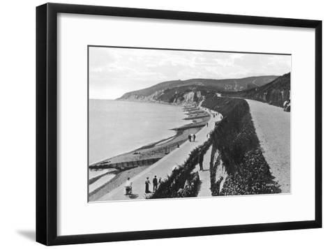 Western Parade, Eastbourne, East Sussex, Early 20th Century--Framed Art Print