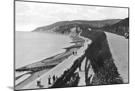 Western Parade, Eastbourne, East Sussex, Early 20th Century--Mounted Giclee Print