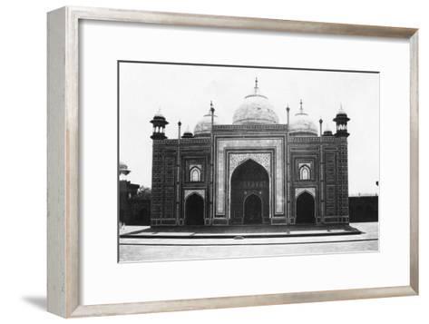 Taj Mahal Mosque (Or Masji), Agra, India, 1916-1917--Framed Art Print