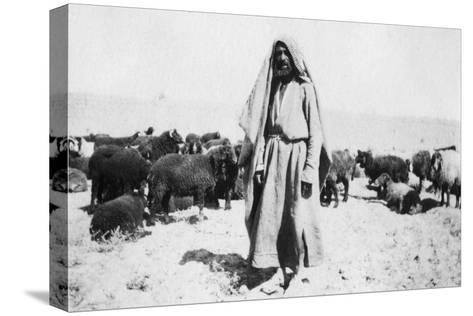 Arab Shepherd, Kazimain Area, Iraq, 1917-1919--Stretched Canvas Print