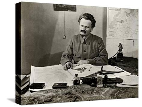 Leon Trotsky, 1922--Stretched Canvas Print