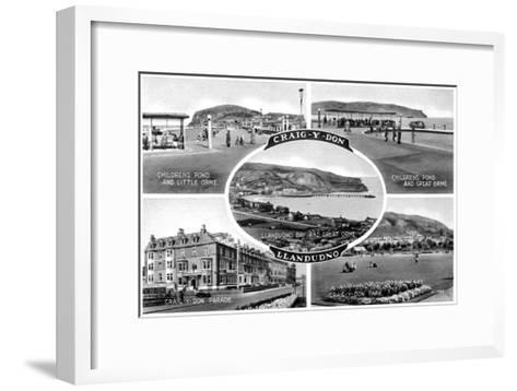 Llandudno, 20th Century--Framed Art Print