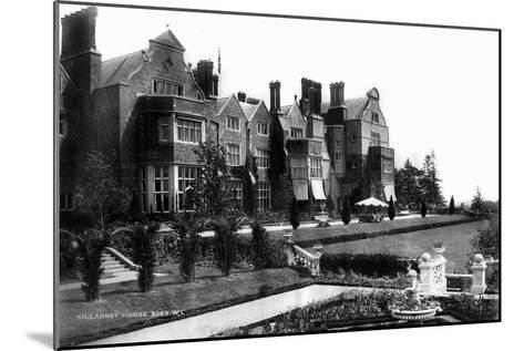 Killarney House, C1882--Mounted Giclee Print