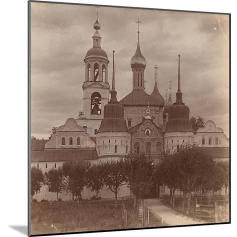 The Tolga Convent in Yaroslavl, 1910-Sergey Mikhaylovich Prokudin-Gorsky-Mounted Giclee Print