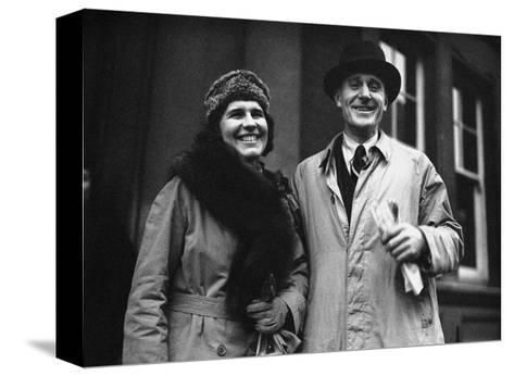 Brian and Elena Grover, 1939--Stretched Canvas Print