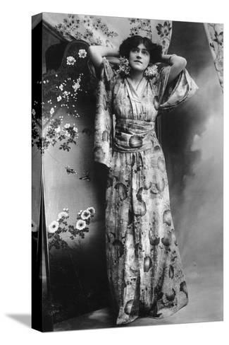 Hilda Hammerton, Actress, Early 20th Century--Stretched Canvas Print
