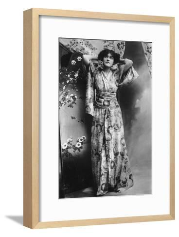 Hilda Hammerton, Actress, Early 20th Century--Framed Art Print