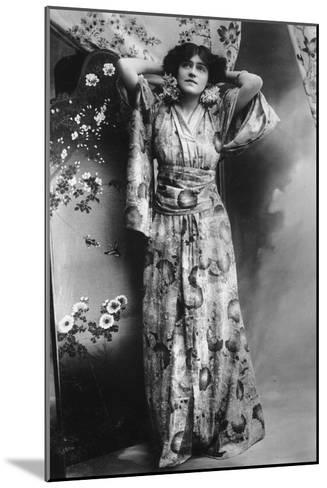 Hilda Hammerton, Actress, Early 20th Century--Mounted Giclee Print