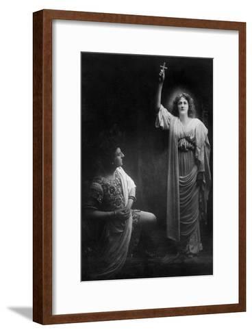 Scene from the Sign of the Cross, 1903- J Beagles & Co-Framed Art Print