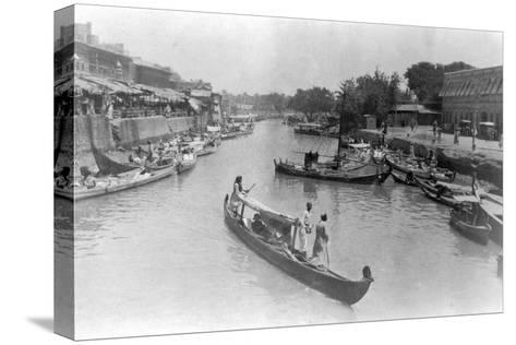 Ashar Creek, Basra, Iraq, 1917--Stretched Canvas Print