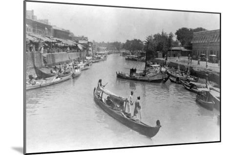 Ashar Creek, Basra, Iraq, 1917--Mounted Giclee Print