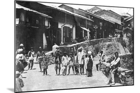 Kailana, Chakrata, India, 1917--Mounted Giclee Print
