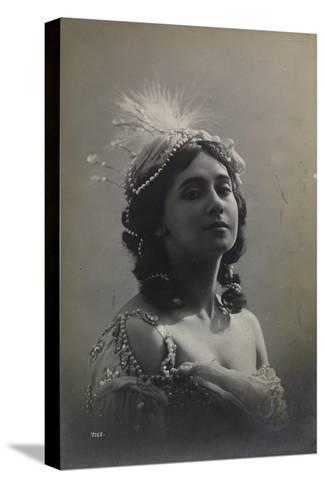 Russian Ballerina Tamara Karsavina, 1912--Stretched Canvas Print