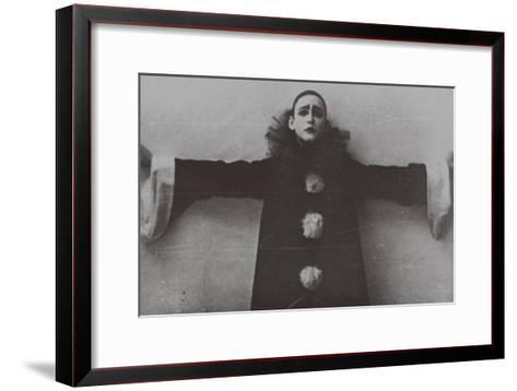 Alexander Vertinsky as Pierrot, 1918--Framed Art Print