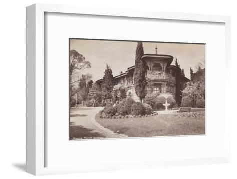 The Small Livadiya Palace, 1890-1900--Framed Art Print
