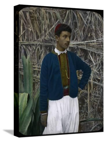 A Jewish Boy, Tangier, Morocco--Stretched Canvas Print