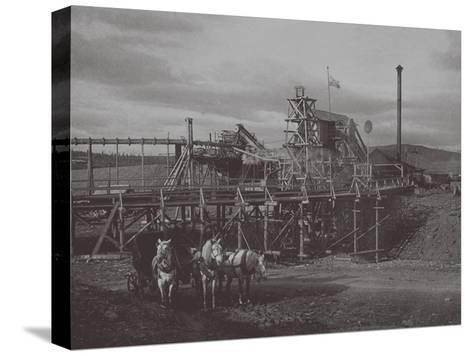 Gold Dredge in Sysert, 1900s-1910S--Stretched Canvas Print