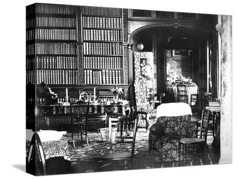 Room at Flete, C1882--Stretched Canvas Print
