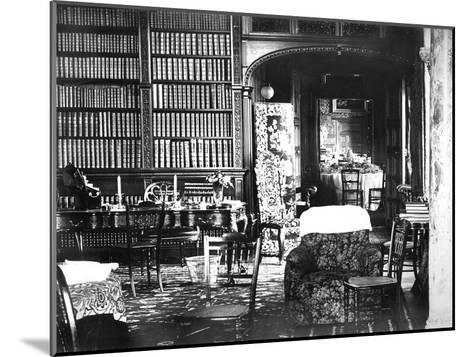 Room at Flete, C1882--Mounted Giclee Print