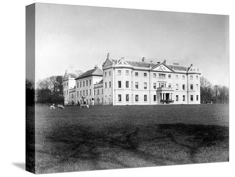 Saltram House, C1882--Stretched Canvas Print