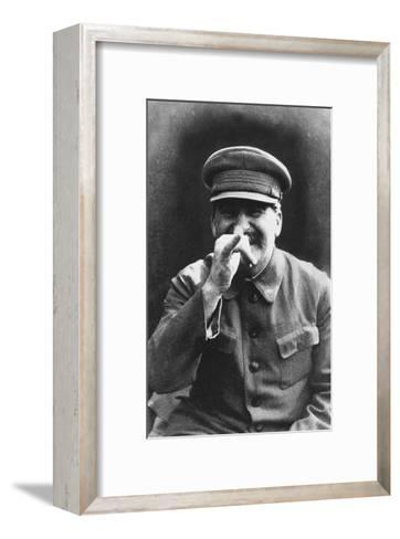 Stalin, 1935-Nikolay Vlasik-Framed Art Print