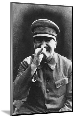 Stalin, 1935-Nikolay Vlasik-Mounted Giclee Print