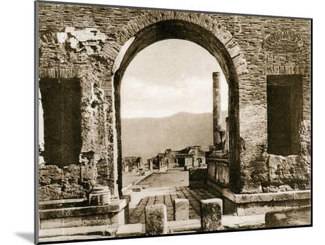 Arco Di Nerone, Pompeii, Italy, C1900s--Mounted Giclee Print